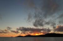 sunrise at the whitsundays