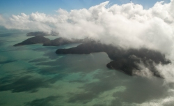 scenic flight at the whitsundays