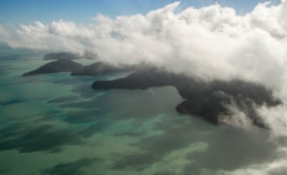scenic flight at the whitsundays