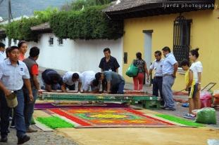 alfombra, Antigua Guatemala
