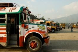 Bus terminal, Antigua Guatemala