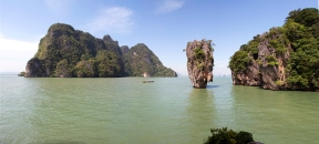 james bond island Panorama, Thailand
