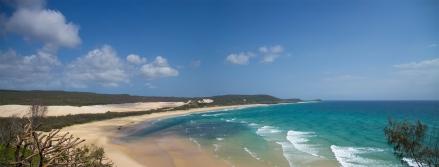 75 mile beach on Fraser Island