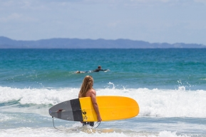 Surfer Byron bay