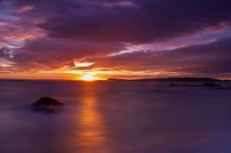 Sunset at Tiritiri Island