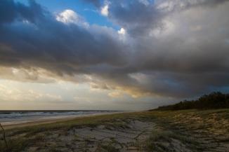 Sunrise on Fraser Island