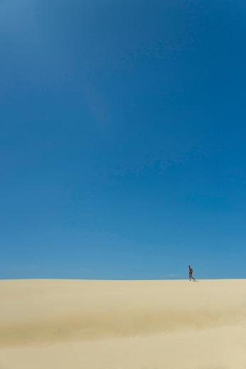 Sand dunes on Fraser