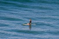 Surfer chick Byron bay