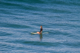 Surfer chick Byron bay