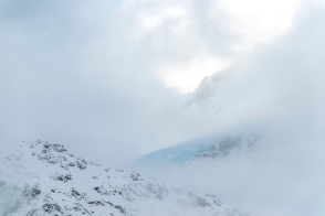 peek of a Glacier