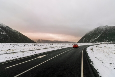 Mt Cook village, New Zealand